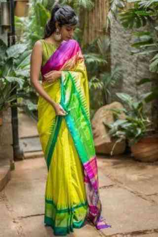 Epitome  Multi Color Soft Silk Designer Sarees - cnd721