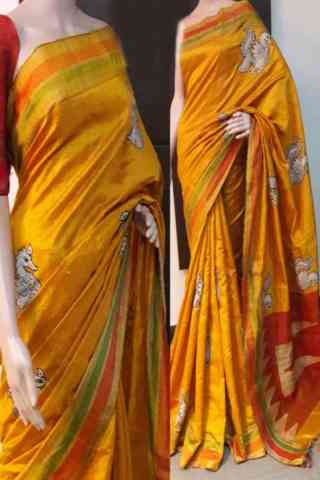 Admirable Yellow Color Soft Silk Saree - cnd771