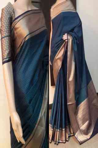 Delightful Multi Color Soft Silk Saree - cnd786