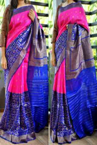 Glorious Multi Color Soft Silk Saree - cnd794