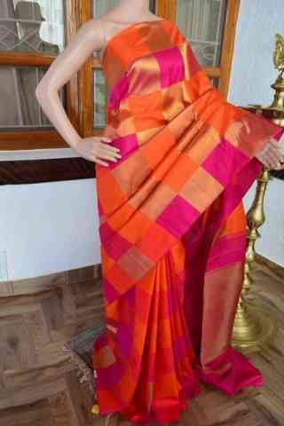 Modern Multi Color Soft Silk Saree - cnd806