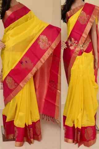 fffa0b6cc0 Dynammic Multi Color Soft Silk Designer Sarees - CND1204