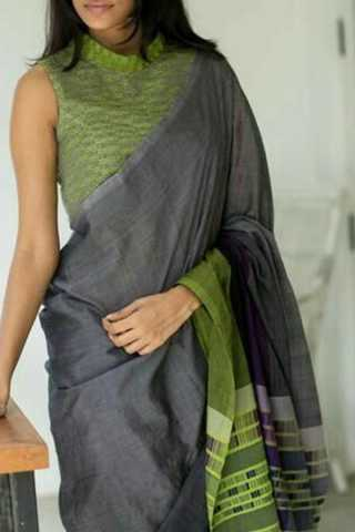 Demanding Multi Colored Soft Silk Fancy Partywear Functional Saree - CD201