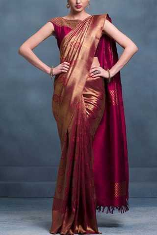 Graceful Multi Colored Soft Silk Fancy Partywear Functional Saree - CD228