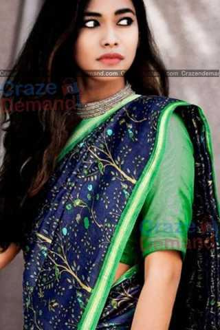 Deserving Blue Colored Designer Soft Silk Festivewear Saree - CD247