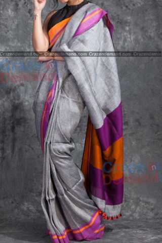 Stylish Multi Colored Designer Soft Silk Navratri Special Saree - CD272