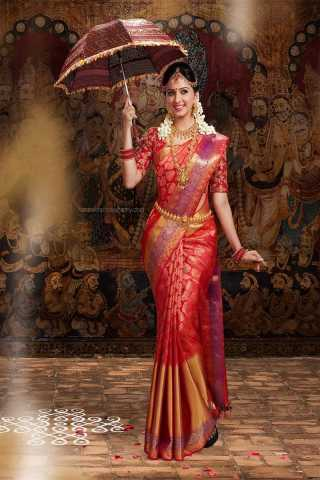 Admirable Red Color Soft Silk Designer Saree - CND2008