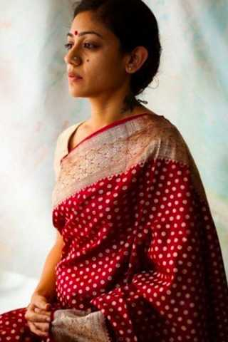 Captivating Red Colored Wedding Wear Soft Silk Saree