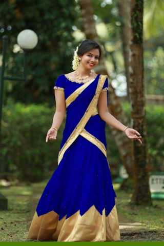 Beautiful Blue Colored Tapeta Silk Lehenga Choli With Dupatta - DVDLVK817E