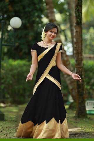 Beautiful Black Colored Tapeta Silk Lehenga Choli With Dupatta - DVDLVK817H