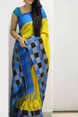 Admirable Yellow Color Soft Silk Designer Sarees - cnd1026