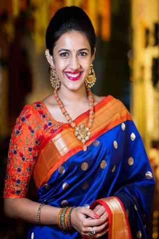 Glorious Blue Color Soft Silk Designer Sarees-cnd1062