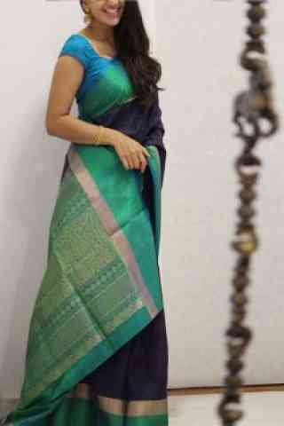 Amazing Multi Color Soft Silk Saree - cnd1085
