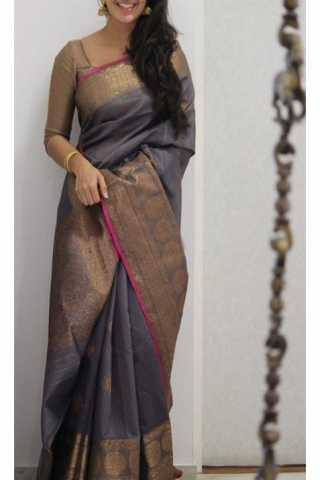Unique Multi Color Soft Silk Saree - cnd1169
