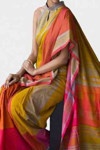 Innovative Multi Color Soft Silk Saree - cnd591