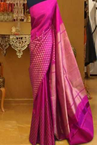 Admirable Pink Color Pattern Soft Silk Saree - cnd602