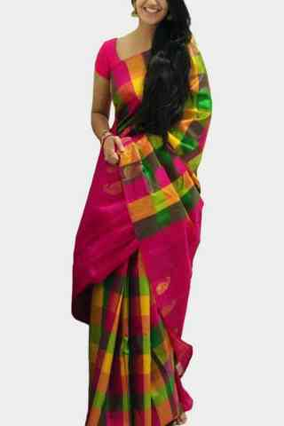Blooming Multi Color Soft Silk Designer Sarees-cnd627