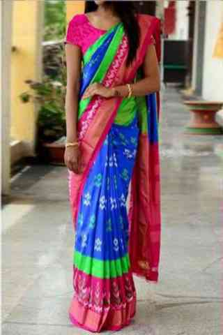 Delightful Multi Color Soft Silk Designer Sarees-cnd638