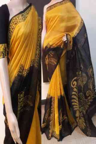 Fabulous Multi Color Soft Silk Designer Sarees - cnd718