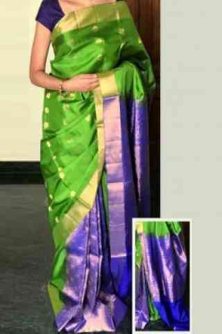 elegant Multi Color Soft Silk Designer Sarees - cnd720