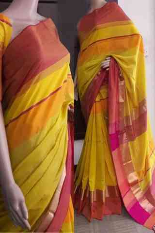 Attractive Multi Color Soft Silk Saree - cnd734