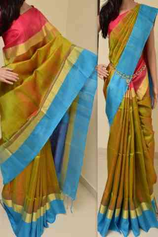 Exquisite Multi Color Soft Silk Saree - cnd761