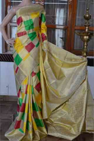 Charming Multi Color Soft Silk Designer Sarees - cnd889