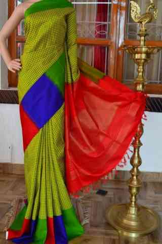 Sizzling Multi Color Soft Silk Designer Sarees - cnd921