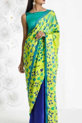 Striking and Beautiful Multicolour Soft Silk Saree