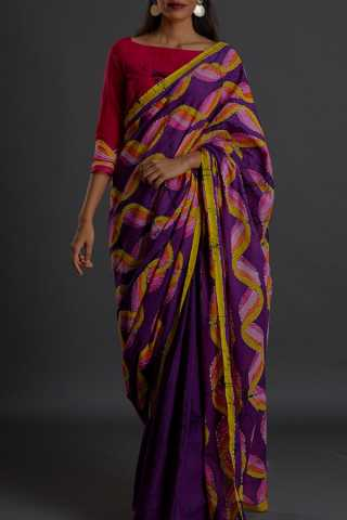 Exquisite Multicolour Soft Silk Saree