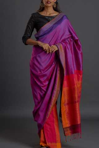 Splendid Multicolour Soft Silk Saree