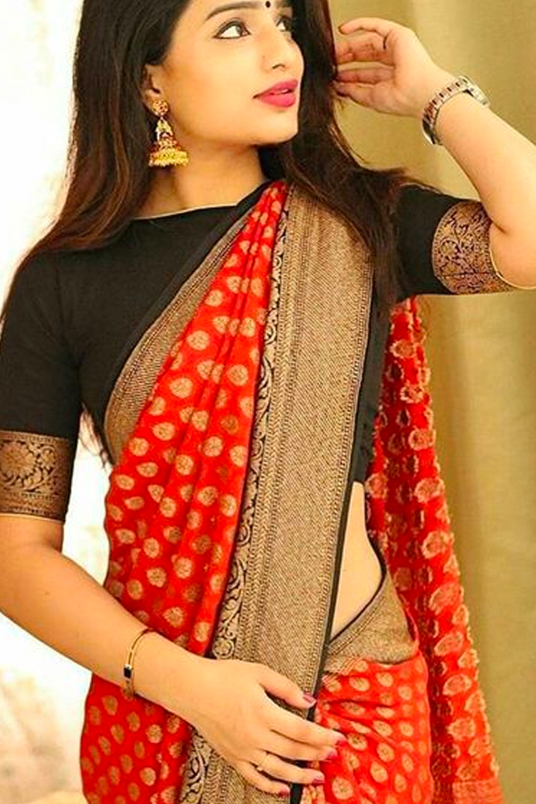 758125655022f ... Color Plain Silk Designer Border Saree - CS53. CS53 1.jpg