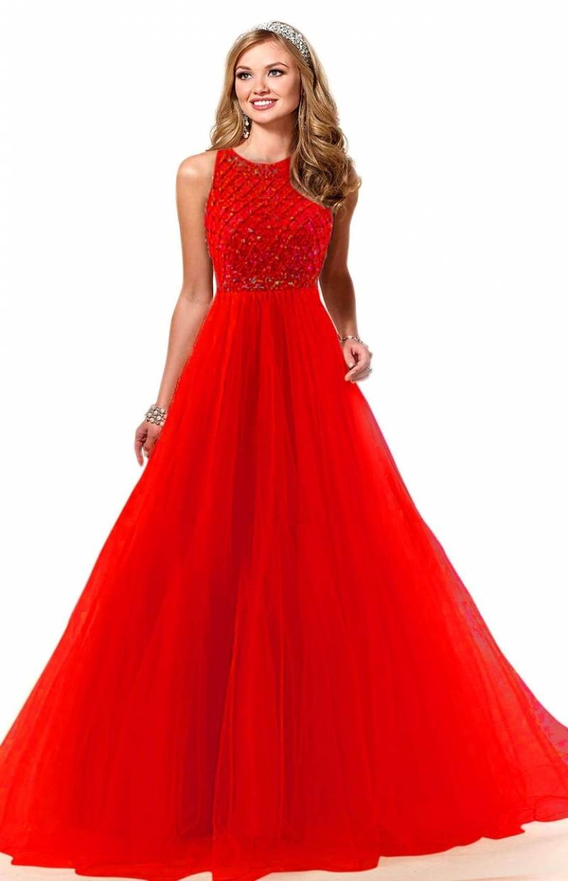 3cd2568962 ... Colored Evening Soft Net Gown. E-red_1.jpeg