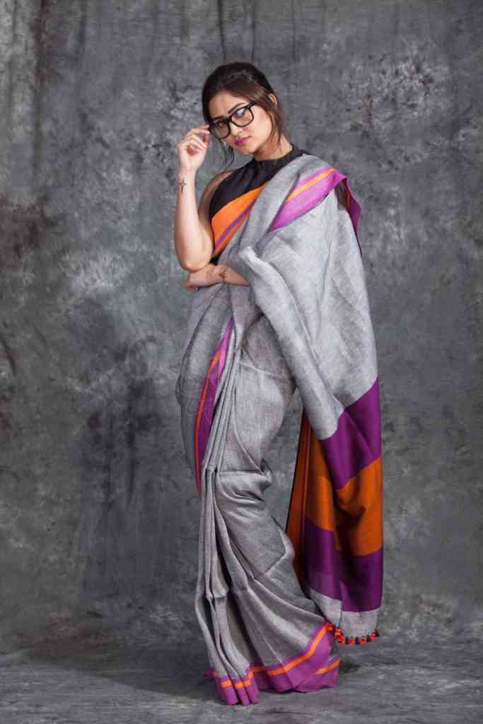 Refreshing Multi Color Soft Silk Designer Sarees
