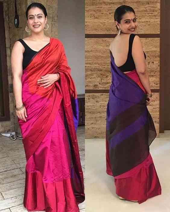 Classic Multi Coloured Casual Wear Soft Silk Saree