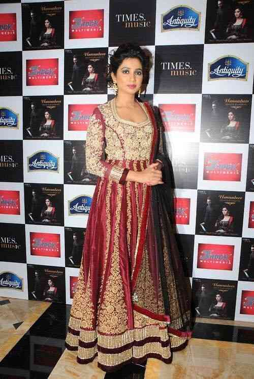 Classic Attractive Maroon Embroidery Art Silk Lehenga With Dupatta