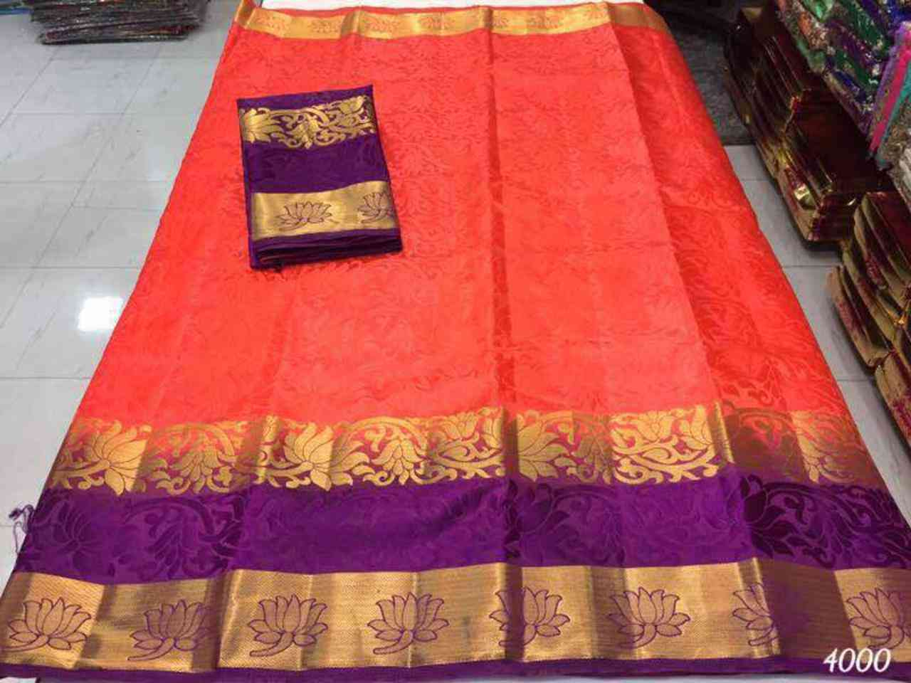 Mastanifab Cotton Silk Jaquard Border Sarees With Blouse