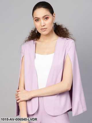 Lavender Cape Jacket
