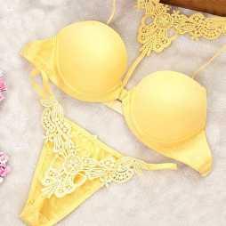 Pinkfly Women Bridal Bra And Panty Set-4057