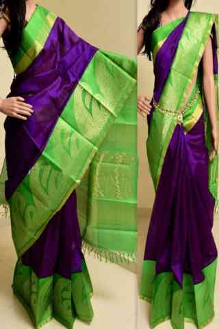 Admirable Purple Color Soft Silk Saree - SB770