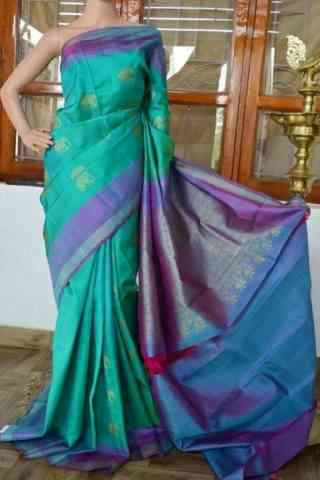 Innovative Multi Color  Soft Silk Saree - SB824