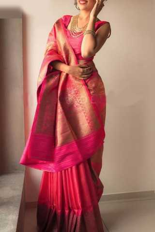 Dashing Partywear Soft Silk Saree - CD161  30""