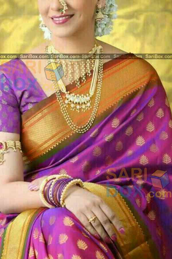 Refreshing Pink Colored Designer Soft Silk Navratri Special Saree - CD267