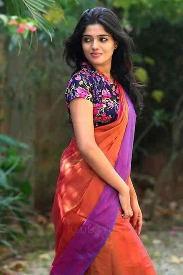 Bright Multicoloured Soft Silk Saree