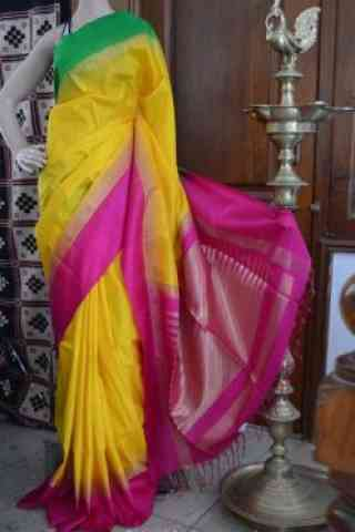 Pretty Multicolor Color Soft Silk Designer Sarees - SB710  30""