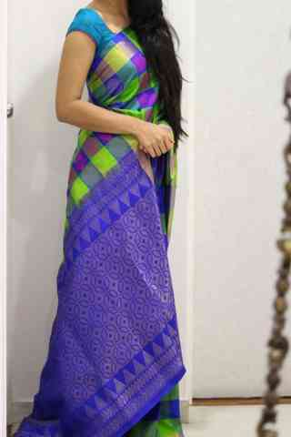 Charming Multi Color Soft Silk Designer Sarees - SB1015