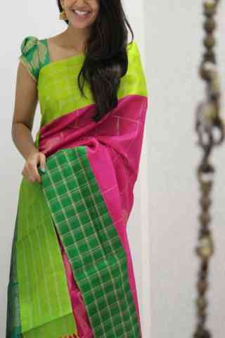 Royal Multi Color Soft Silk Designer Sarees - SB1058  30""