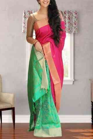 Modern  Multi Color Soft Silk Designer Sarees - SB656