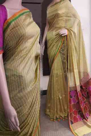 Exclusive Multi Color Soft Silk Saree - SB726  30""
