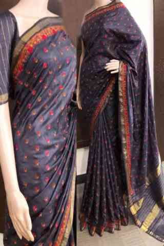 Designer Soft Silk Saree - SB729